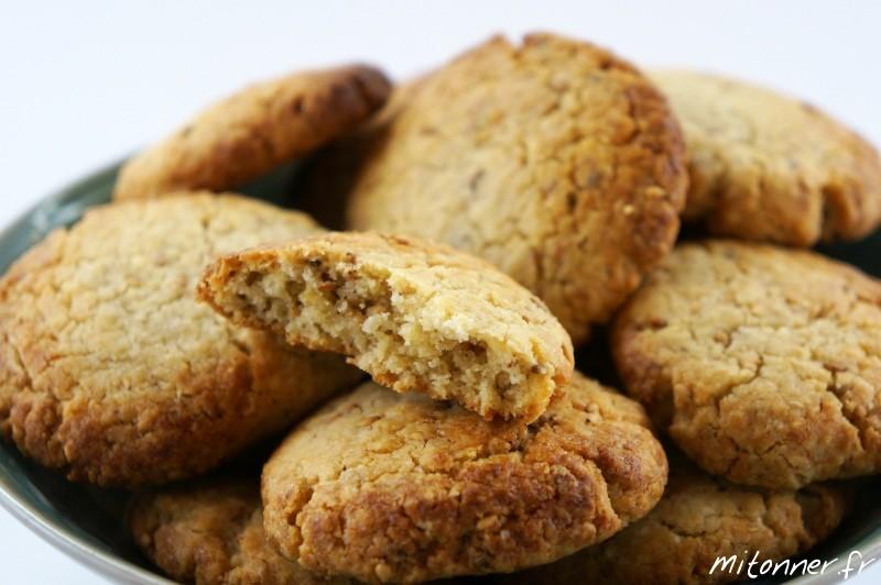 Biscuits Sables Amande Sesame Mitonner Fr